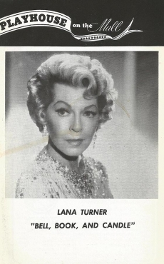 Lana Turner - Poster Bell, Book and Candle