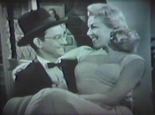 2. Wally Cox and Lana Turner