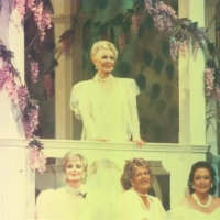 Lana Turner on gazebo with 17 other stars in Happy 100th Birthday Hollywood - 17 May 1987