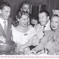 Lana Turner and Frank Sinatra -Première Holiday in Mexico - 1946