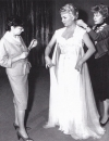 Edith Head and Lana Turner - Negligee for Imitation Of Life - 1959