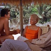 Lana Turner and Hugh O'Brian  - Love Has Many Faces - 1965
