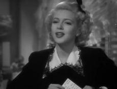 Lana Turner in The Youngest Profession - 1943