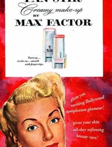 Max Factor Pan Stick - 1951