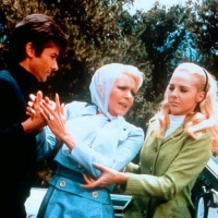 George Chakiris, Lana Turner  and Karin Mossberg - The Big Cube - 1969