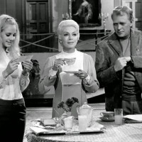 Karin Mossberg, Lana Turner and  Dan O'Herlihy  - The Big Cube - 1969