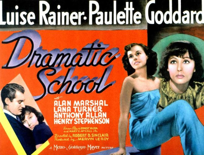 Poster - Dramatic School