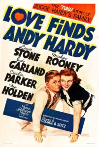 Poster Love Finds Andy Hardy
