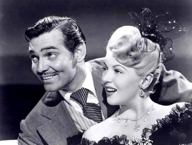 Lana Turner and Clark Gable