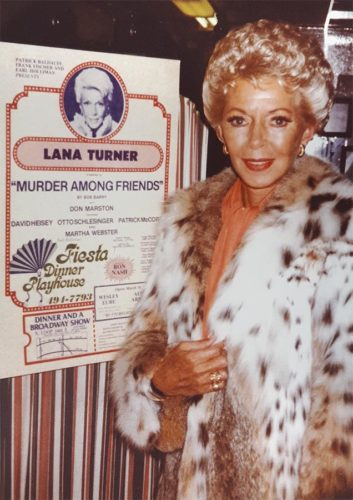 Lana Turner in Murder Among Friends - 1982