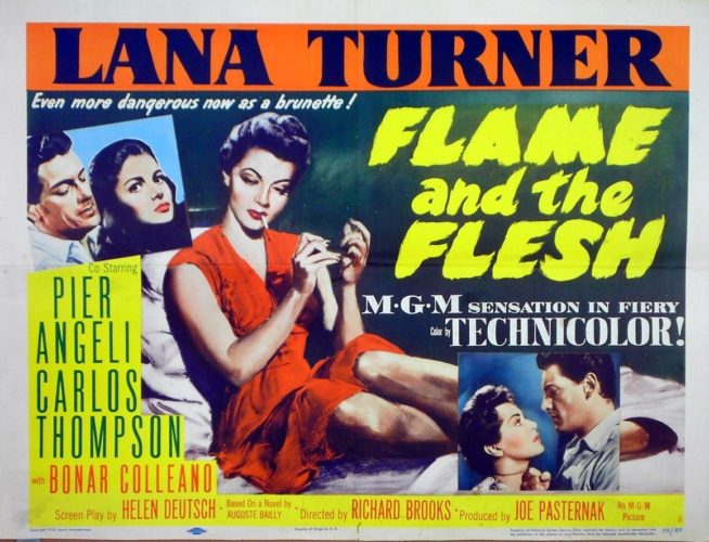 Poster Flame and the Flesh