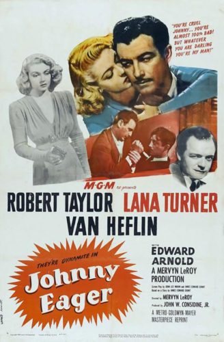 Poster 2 - Johnny Eager with Lana Turner