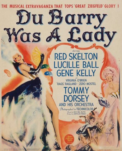 Poster - Du Barry Was A Lady