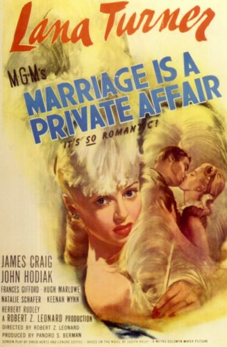 Poster Marriage Is A Private Affair
