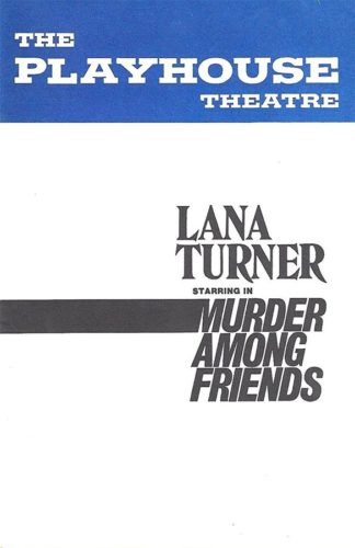 Poster Murder Among Friends