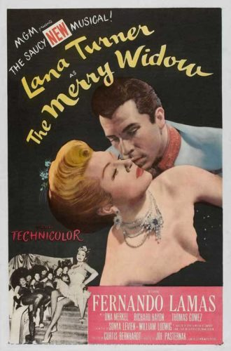 Poster The Merry Widow