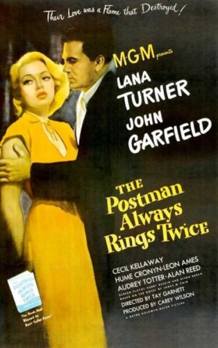 Poster The Postman Always Rings Twice