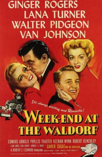 Poster-Week-End At The Waldorf