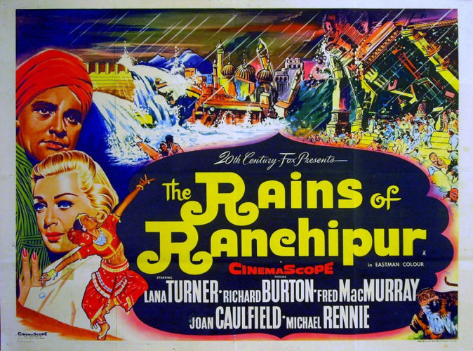 Poster The Rains Of Ranchipur