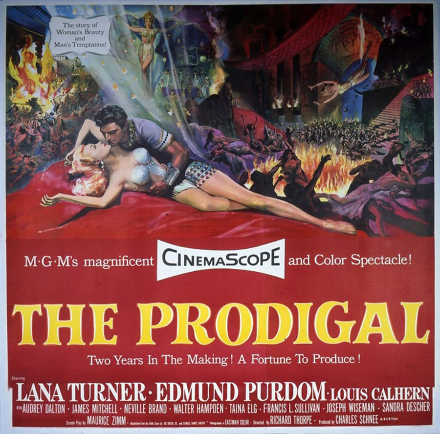Image result for images from the MGM movie, the prodigal