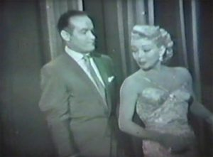 Lana Turner and Bob Hope sing and dance
