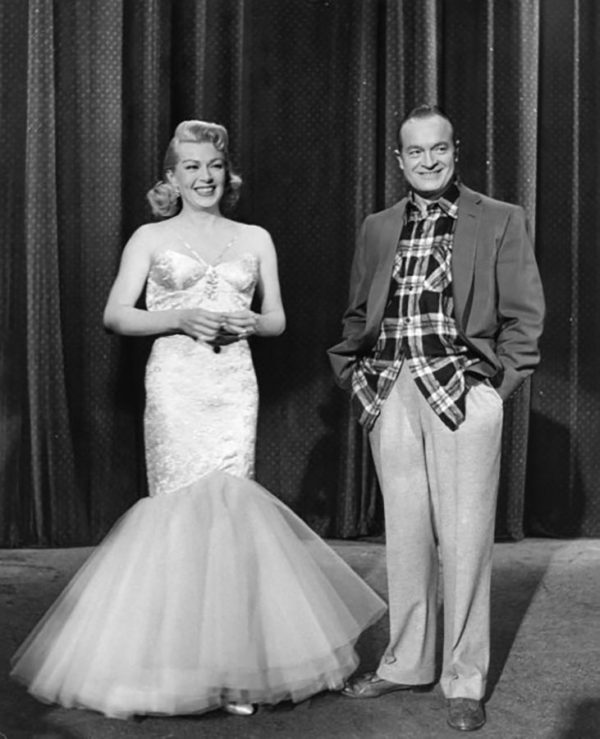 Lana Turner and Bob Hope - 1957