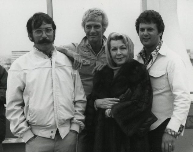 Director David Miller, Eric Root, Lana Turner and Taylor Pero