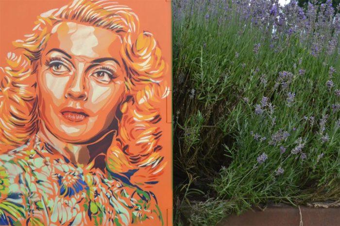 Lana Turner by BTOY - Streetart - Amsterdam