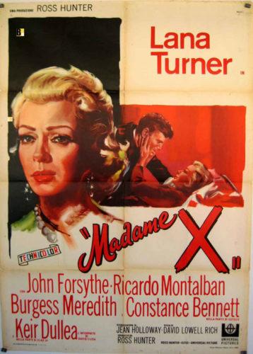 Lana Turner - Poster Madame X