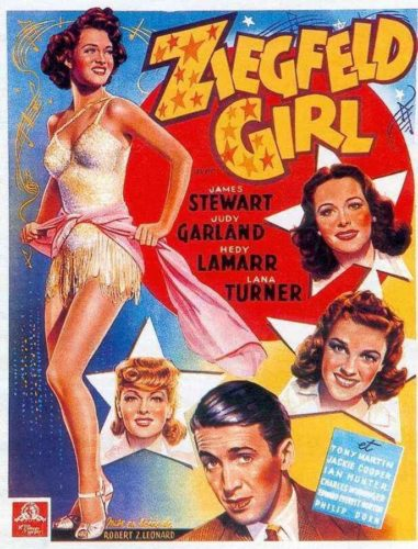 Poster Ziegfeld Girl