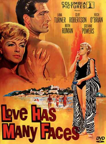 DVD cover- Love Has Many Faces