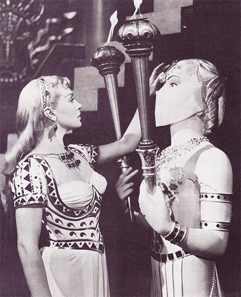 Lana Turner as Samarra in the Prodigal