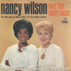 Nancy Wilson 45 for Love Has Many Faces