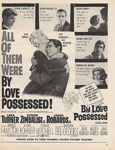 Poster By Love Possessed - 1961