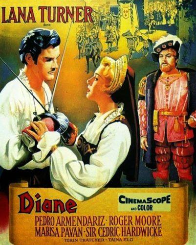 Poster Diane - 1956