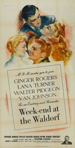 Poster Week-end At The Waldorf