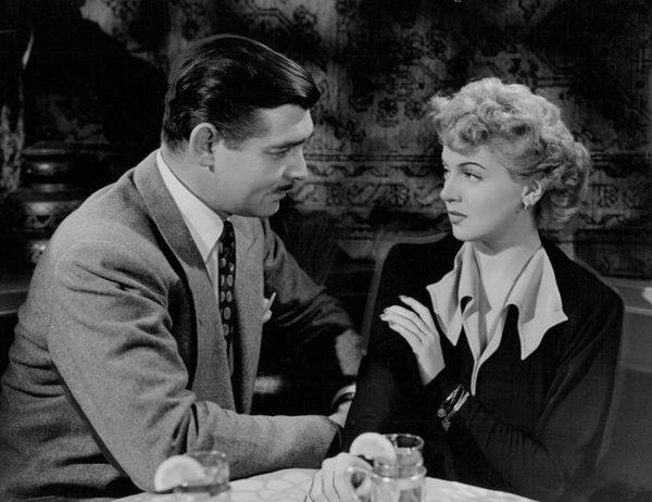 Lana Turner and Clark Gable