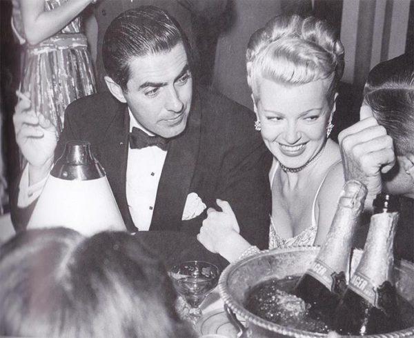 Lana Turner and Tyrone Powe